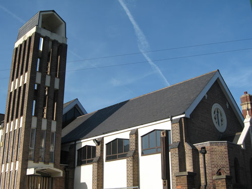 St.Paul's Catholic Church, Lenton, Nottingham